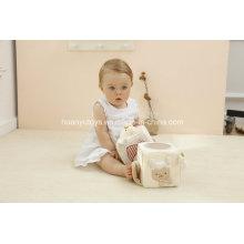 Activité Cube-Plush Toy-Organic Cotton Collection