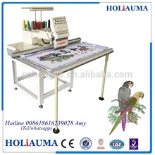 HO1501L single head flat embroidery computer embroidery machine siruba sewing machine price