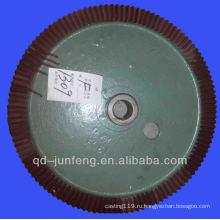 подгонянное стальное кольцо шестерни с поверхностью покрытия порошка