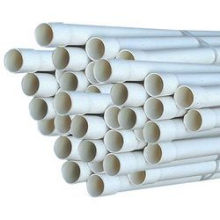 PVC Pipe with Rubber Rings (0.63-1.6 MPa)