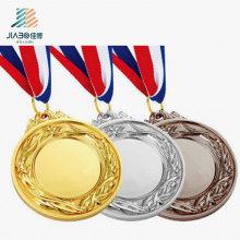 L'ornement fait sur commande de sports d'usine d'or, argent, bronze bronze en métal pour le cadeau de souvenir