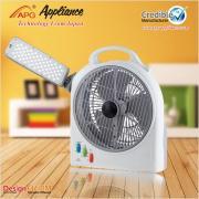 10 pouces LED Rechargeable Fan