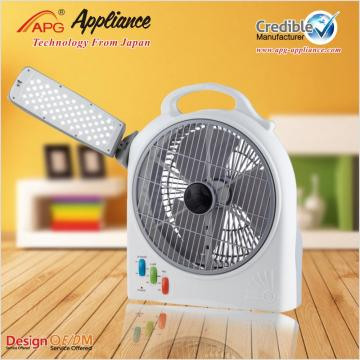APG 10 inch LED Rechargeable DC Fan