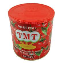 Certificado de halal en pasta de tomate-ISO FDA HACCP