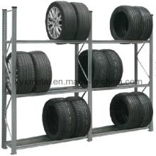 Adjustable Multifuntional Garage Storage Metal Steel Tire Rack