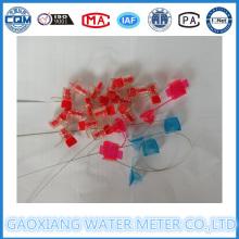 Kunststoff-Wasserzähler-Verschluss-Dichtungen