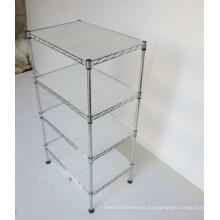 NSF ajustable de metal cromado cuarto de baño de la sala de rack (CJ-C1187)
