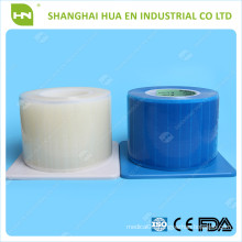 White Disposable dental Plastic Blue Barrier Film