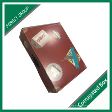 Colorful Cardboard Handle Box with Logo