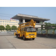 2018 new Dongfeng truck mounted aerial boom lift