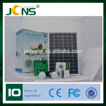 Novo Kit Solar Portátil para Camping Outdoor