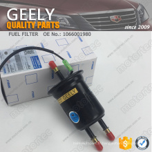 Filtre à carburant 1066001980 de pièces de rechange d'OE GEELY