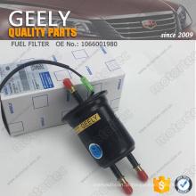 OE GEELY peças de reposição filtro de combustível 1066001980