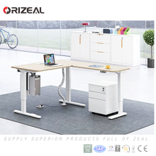 Own safe function Electric height adjustable standing desk converter height adjustable table leg with memory