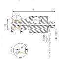 Diamante Arris Router Bit para vidro moagem / CNR Arris Router