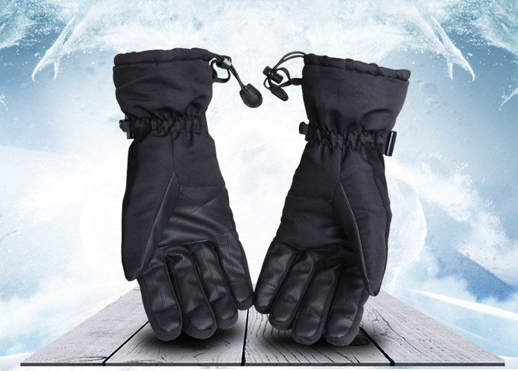 All-finger ski gloves