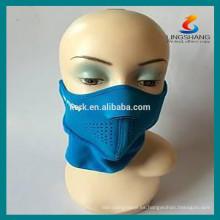 Seguridad Tipo de deporte máscaras de protección respirante máscara de neopreno de medio rostro
