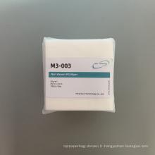Lingettes non tissées non poussiéreuses M3