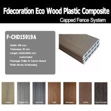Revestimento exterior de madeira composto de Eco Decking WPC