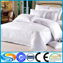 China fabricante Dubai conjunto de hoja de cama para el hotel