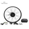 TOP 250w elektrische Fahrradnabenmotor-Kits 26 Zoll für fette ebike