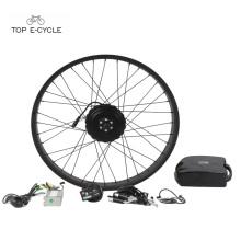 Kits de motor eléctricos del cubo de la bicicleta SUPERIOR 250w 26 pulgadas para el ebike gordo