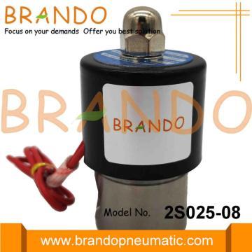 Válvula electromagnética neumática 2S025-08