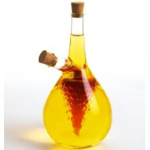 Hot Sale 2PCS/Set Glass Oil and Vinegar Container, Glass Oil & Vinegar Bottle Set