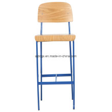 Железный стул деревянный стул высокий досуг стул