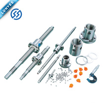 Customized Rotating Nut Ball Screw SFU 3205 With Nuts