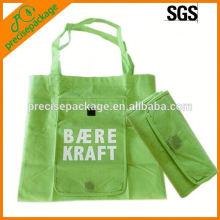 Sacola de compras (sacola de compras não tecida, bolsa dobrável, sacola)