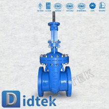 Válvula de vedação de flange de torção Didtek Stern WCB
