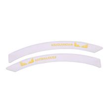 Automobile Wheel Eyebrow silicone Bumper sticker Silicone Anti-collision sealing Strip