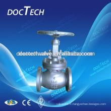 Type lourd acier 304/316 PN40 bride Globe Valve Chine fabricant