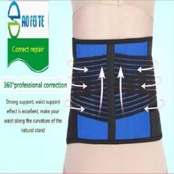 Medical back support straightening orthopedic waist belt