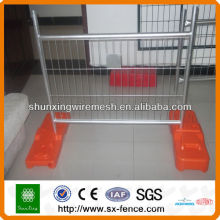 Hot dipped Galvanized Temporary Movable Fence
