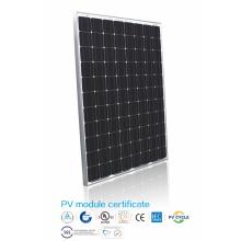 Eficiência 250W Painel Solar Monocristalino de Silício
