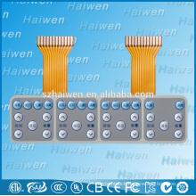 Flexible PCB membrane keyboard