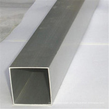 Tubulação quadrada de aço galvanizada da construção do tubo do mergulho quente