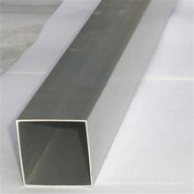 Tubería de construcción de tubos cuadrados de acero galvanizado en caliente