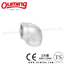 Stainless Steel Thread End Pipe Fitting: 90 Degree Elbow