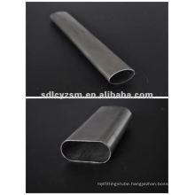 thin wall oval tube/thin wall oval steel tube