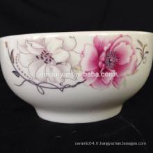 Vaisselle en céramique riz Bols