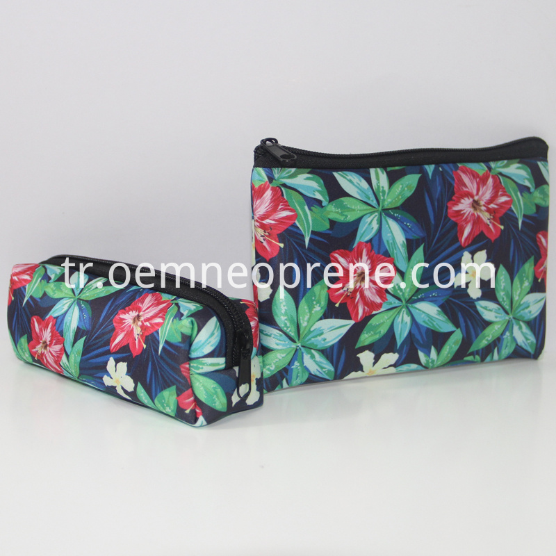 makeup bag with zipper