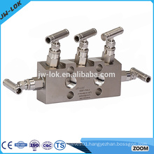 New product of Stainless Steel 6000psig 3 way manifold valves