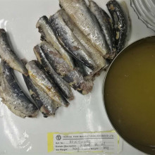Canned Sardines Preservatives in Oil