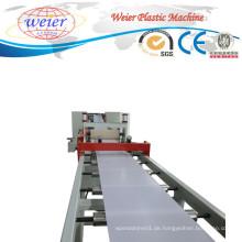 SGS-Plastikextruder-Maschinen-Fertigungsstraße für PVC-Kanten-Bänderung
