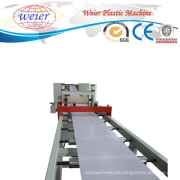 Línea de producción de máquina de extrusión de plástico SGS para bandas de borde de PVC
