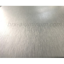 Anodized wiredrawing aluminum alloy plate