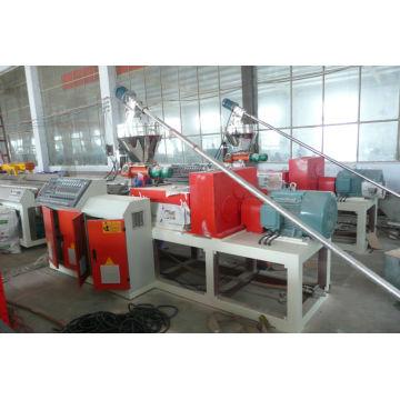 2014 High quality wpc wooden plastic compound machine/wpc sheet foam production line